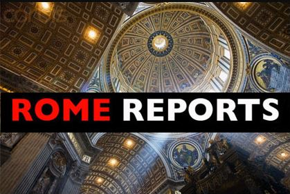 Click on Rome Reports to get the latest news and information and news from the Vatican.